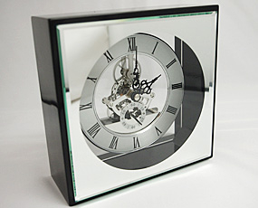 直輸入特価クリスタルガラス時計「アートシリーズHS2011」 (YM-HS2011)