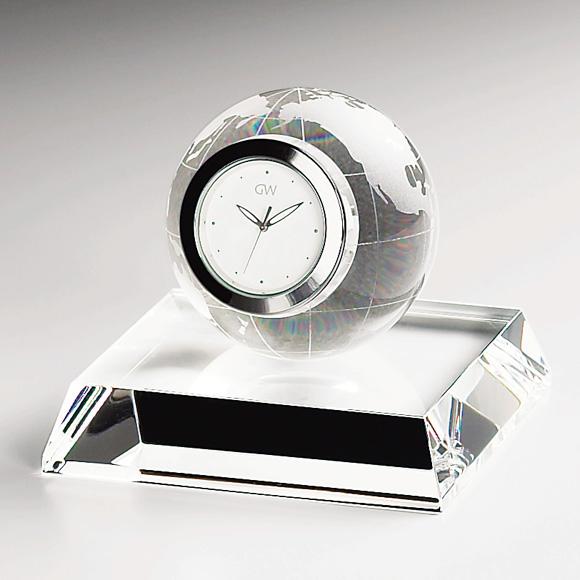 ガラス 時計「アース」