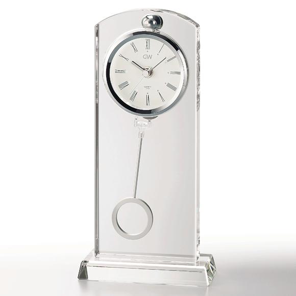 ガラス 時計「セレナ」
