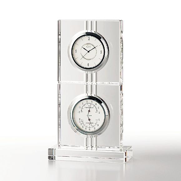 ガラス 時計「エコロ」