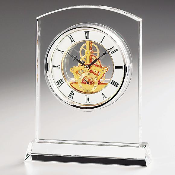 ガラス 時計「マルカート」