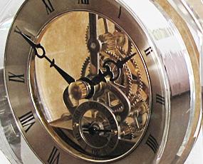置き時計 クリスタルクロック CCL-NO.4 (LY-CCL-NO.4)