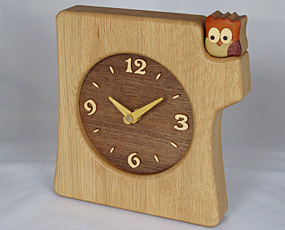 寄せ木掛け置き時計KK-1(PK-KK-1)