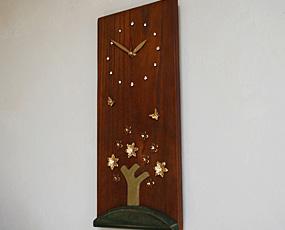 Timco木製掛け時計 (ti-tw1203b)