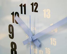掛け時計 (スパイラル)ACT09−04