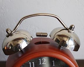 ミニツインベルアラームクロック 「シャーロット」(NA-T659)