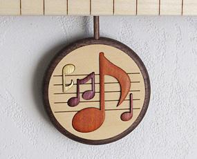 寄せ木振り子時計「ピアノ」(PK-PF-1)