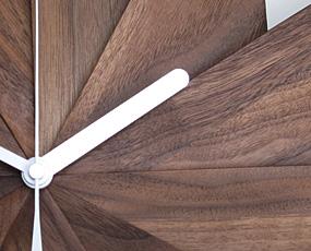 ハンドメイド寄せ木時計 風 (PM-0030414)