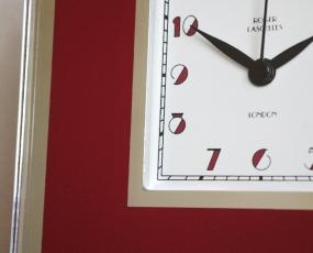 直輸入特価・英国製ガラスの置き時計GL (RLC-GL)