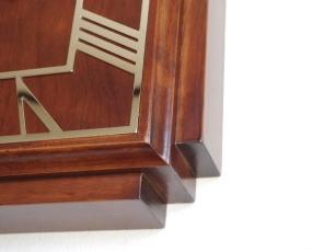 直輸入特価・英国木製掛け時計WD/DECO/SQUARE (RLC-WDDECO)