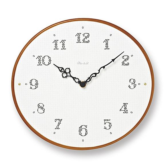 掛け時計「Ovale」(TL-PC11-23)