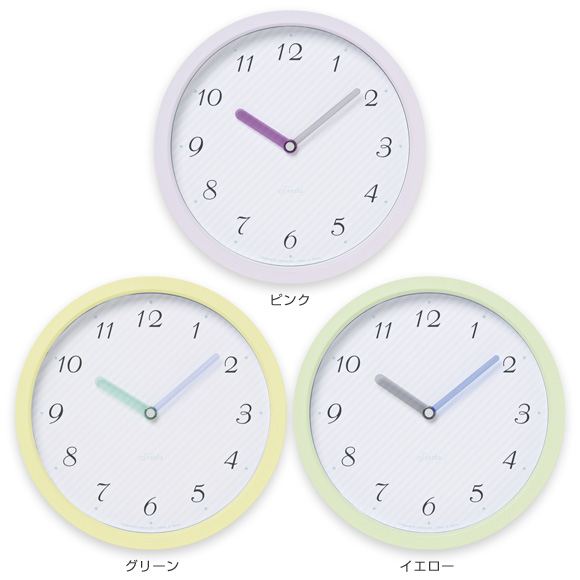 掛け時計「chouchou、L」 (TL-PC11-24L)