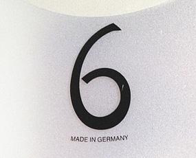 【 国内在庫 即納 】ドイツ AMS(エイエムエス) 社製 木調掛け時計9393