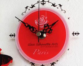 ガラス時計「パリシリーズ」 (YP-GS0800)