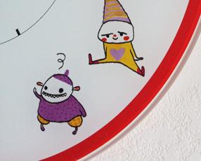 リトルピンク&ブロキガ子供時計(スェーデン・デザイン)