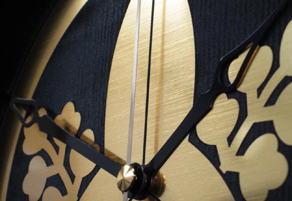 オリジナル家紋時計 作成致します