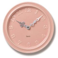陶器の時計「ポタリー」